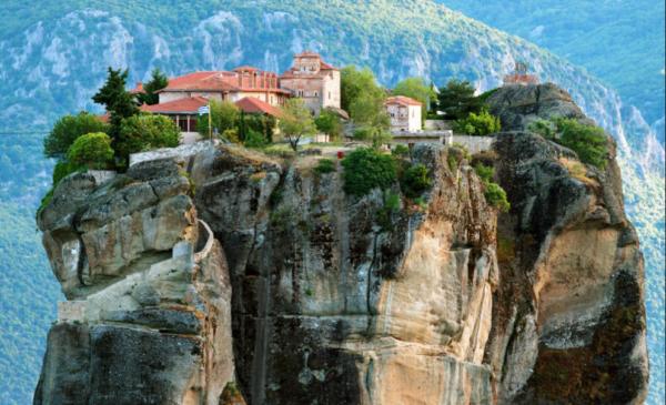 монастыри метеори греция