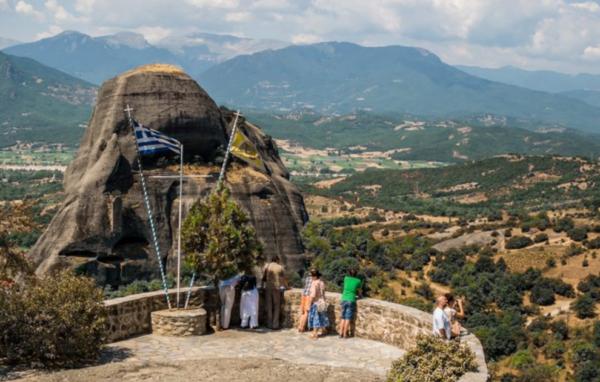 парящие монастыри метеоры в греции