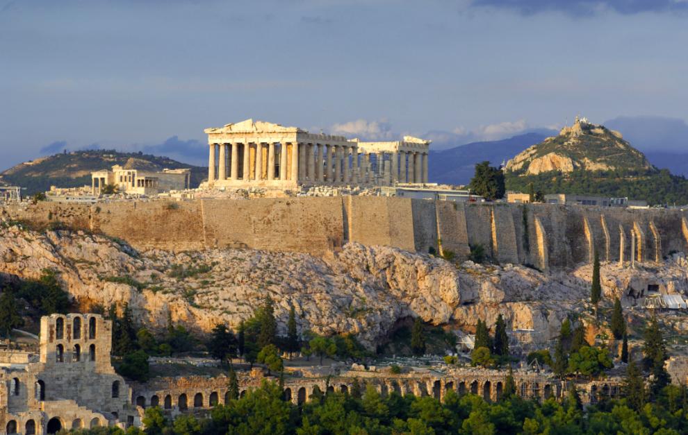 Акрополь Греция